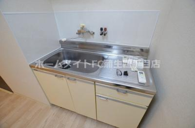 【キッチン】クリスタルコート66