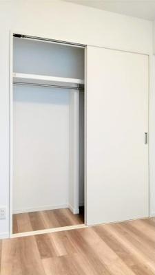 全室収納付きでスペースを広く有効にお使いいただけます。