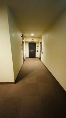 ホテルライクな内廊下設計