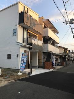 【前面道路含む現地写真】南津の辺町新築戸建て