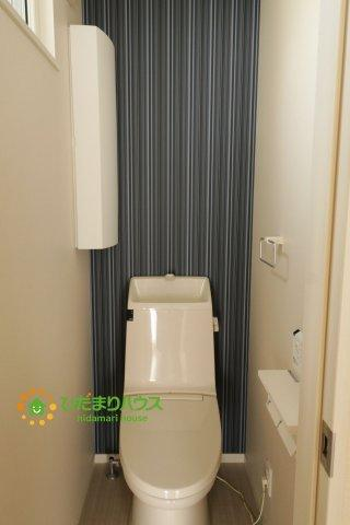 トイレは1F、2F共に完備!取り合いになることがありませんね!