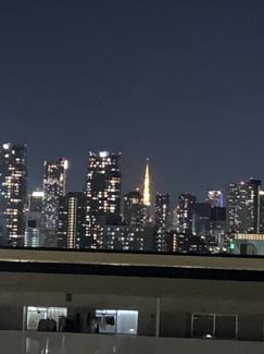東京タワーを望む コスモ木場キャナルブリーズ