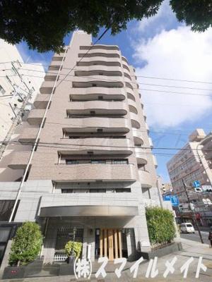 鉄骨鉄筋コンクリート造りの11建てのマンションです