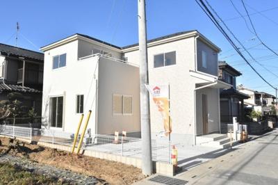 日当り良好の新築戸建て、完成済みで内覧できます!