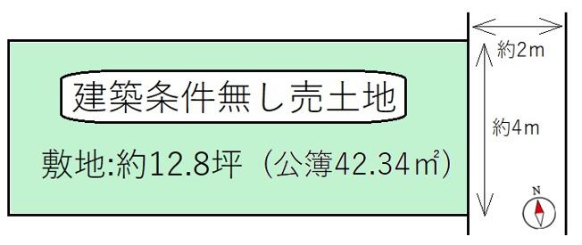 【土地図】京都市伏見区深草直違橋北1丁目