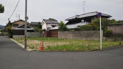 【外観】上高野流田町 建築条件無 売土地