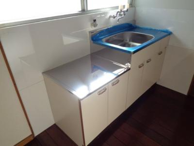 【キッチン】上国料アパートB棟