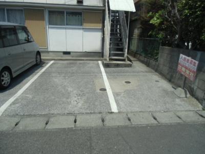 【駐車場】原田ハイツ