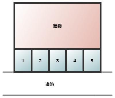 【区画図】原田ハイツ