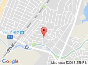 【地図】リビングタウン湖都ヶ丘Ⅱ A棟