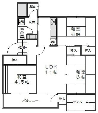 【内装】北須磨団地C3棟