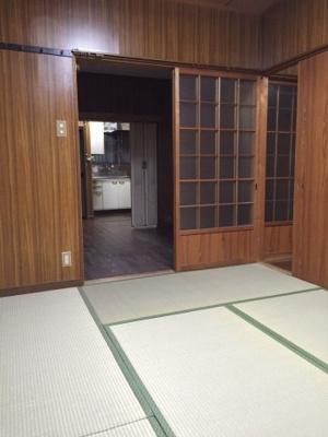 【寝室】住道矢田1貸家