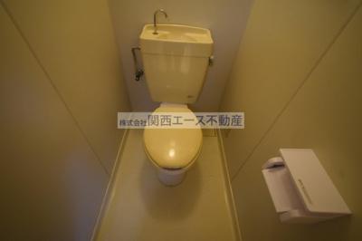 【トイレ】山手ワンルームハイツ