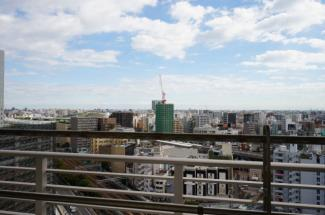 15階からの眺めになります