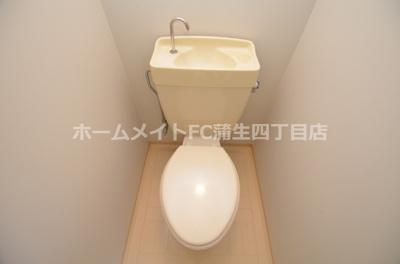 【トイレ】ラパンジール京橋