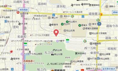 【地図】フェリックス鉄砲町