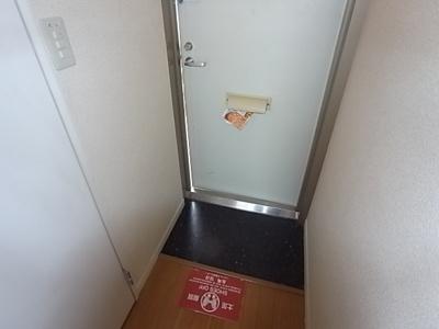 【玄関】レオパレス夢2番館