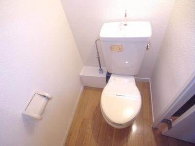 【トイレ】レオパレス夢2番館