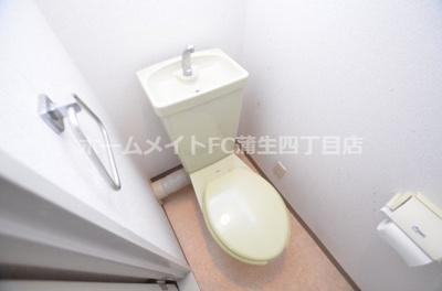 【トイレ】白樺ハイツ城東