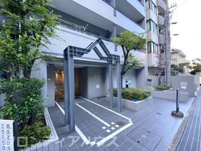 【エントランス】六甲道シティハウス