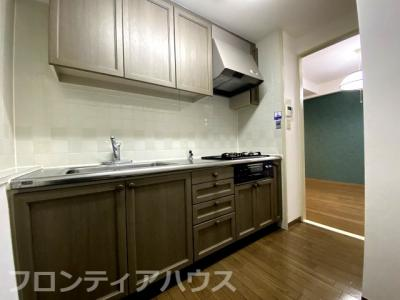 【キッチン】六甲道シティハウス