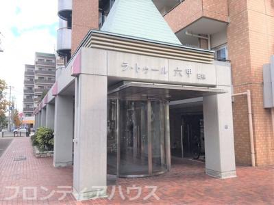【エントランス】ラ・トゥール六甲E棟