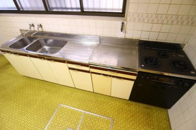 【キッチン】清水通貸家