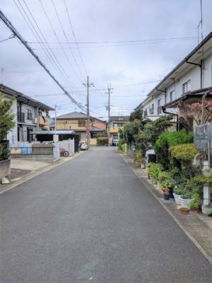 【前面道路含む現地写真】京都市山科区勧修寺柴山