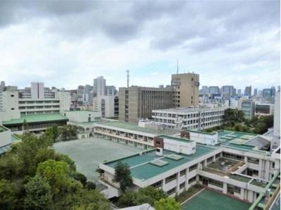 14階建9階部分からの眺望です。