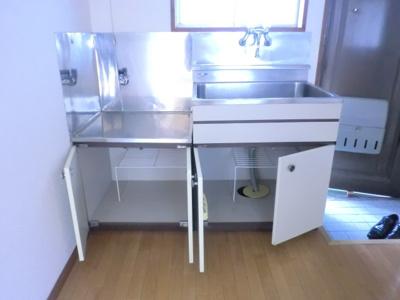 【キッチン】さぎの宮ハイツ