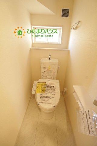 ウォシュレット付きのトイレを完備!!