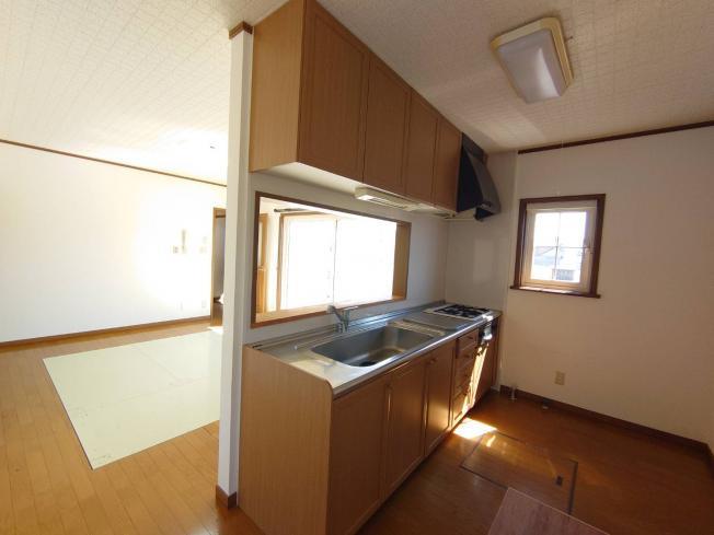【キッチン】北見市留辺蘂町旭西222番地116 中古売家