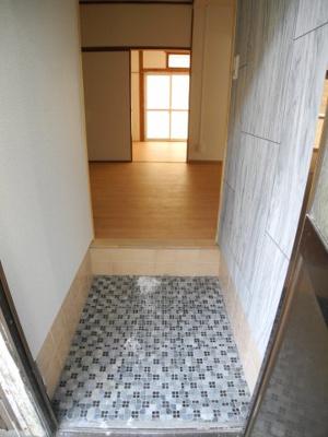 【玄関】錦町アパート