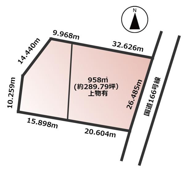【土地図】大和高田市東中1丁目 土地