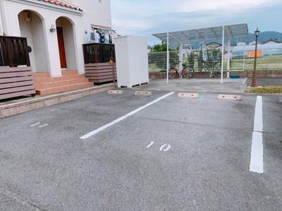 駐車場があります 【COCO SMILE ココスマイル】