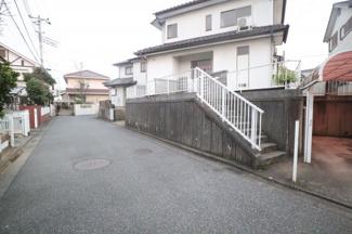 千葉市中央区矢作町 中古一戸建て 千葉駅 前面道路も広々しており、駐車も安心です!