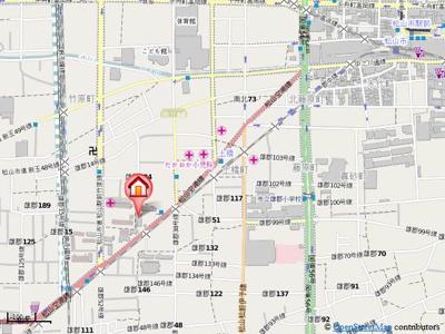 【地図】フェリオ市駅西Ⅰ