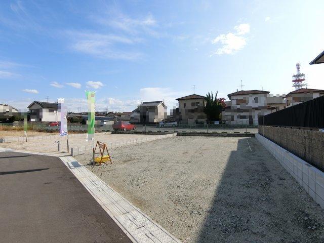 【前面道路含む現地写真】大和高田市大中(全11区画)土地 J号地