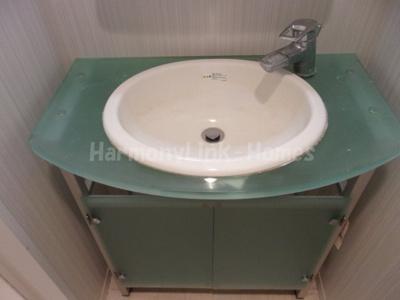 グランド・ガーラ池袋の独立洗面台(↓)☆