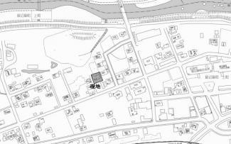 【地図】北見市留辺蘂町上町117番地2 中古売家