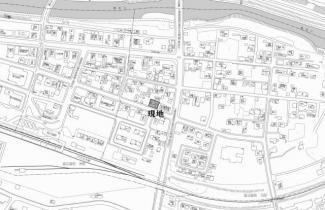 【地図】北見市留辺蘂町元町46番地2 中古売家