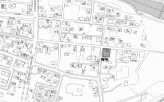 【区画図】北見市留辺蘂町元町71番地31 中古売家