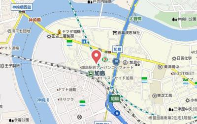 【地図】スプランディッドⅡ