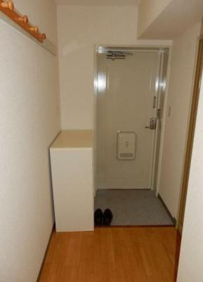 コートフックが便利な玄関♪