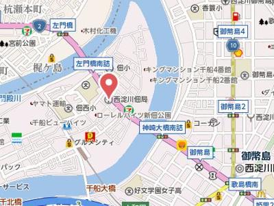 【地図】SQUARE HOUSEⅡ