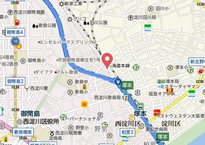 【地図】Riora塚本I