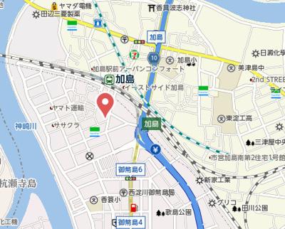 【地図】カーサグランテ竹島