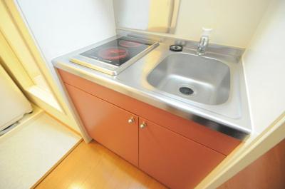 【キッチン】レオパレスチェリーロード