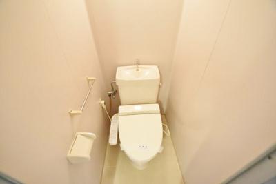 【トイレ】ハイツ・ハピネス