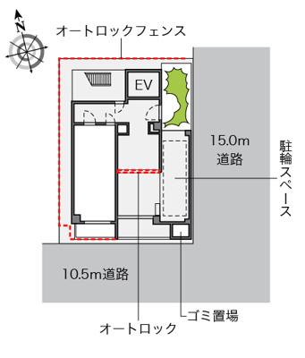 【地図】レオパレス道頓堀